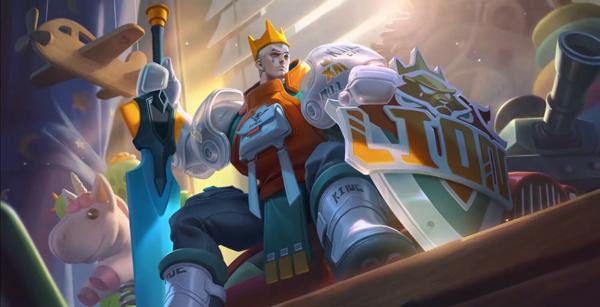 王者荣耀亚瑟潮玩骑士王