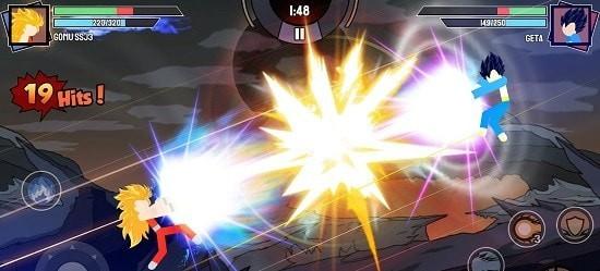 火柴人勇士超级龙影搏斗