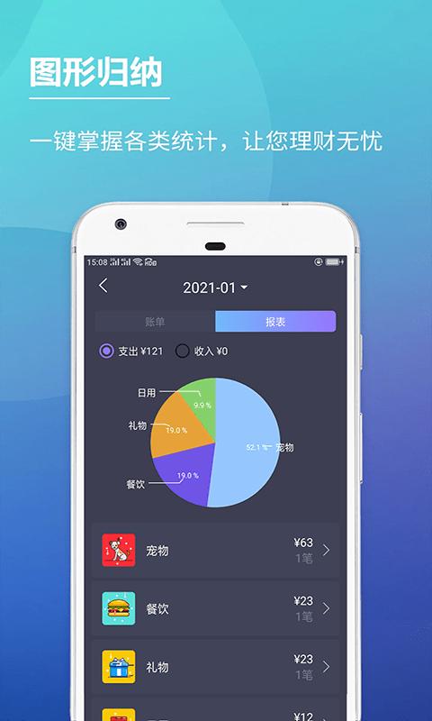 啊噢记账本安卓版 V1.0.0