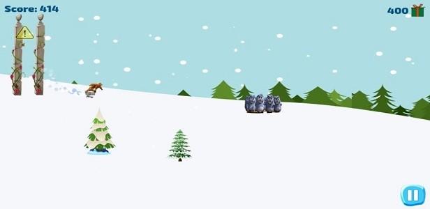 灰熊滑雪冒险最新安卓版 V1.0