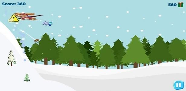 灰熊滑雪冒险